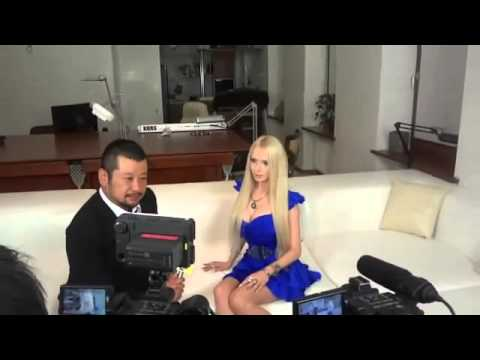 Valeria Lukyanova Interview part 1