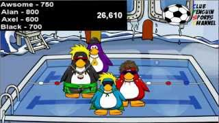 The Club Penguin Summer Olympics 2012™ - Swimming Races - Part 2