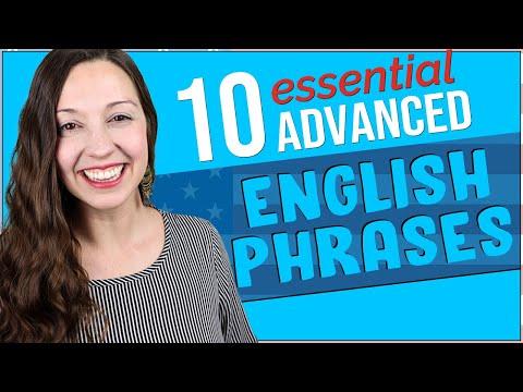 10 Essential Advanced English Phrases