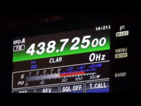 qso avec l'un des plus ancien radioamateur de suisse hb9ln