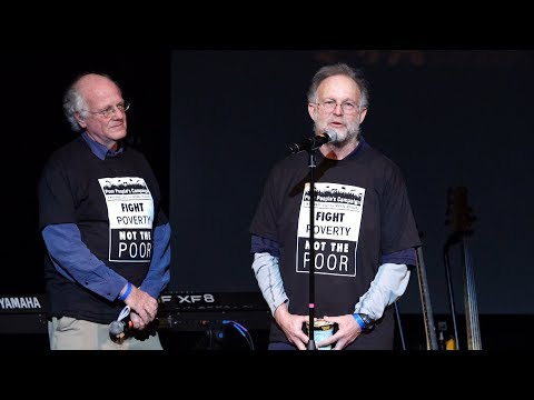 Ben and Jerry Speaking at the Launch of the Poor People's Campaign