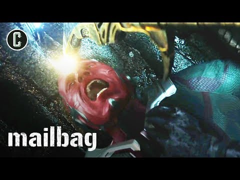 Avengers: Infinity War - Are Spider-Man & Vision Done For? - Mailbag
