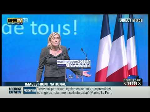 Meeting Toulouse Marine Le Pen HD 1080p (05/02/2012)