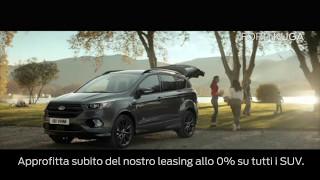 Rete Ford Ticino | Campagna spot TV Leasing tasso 0%