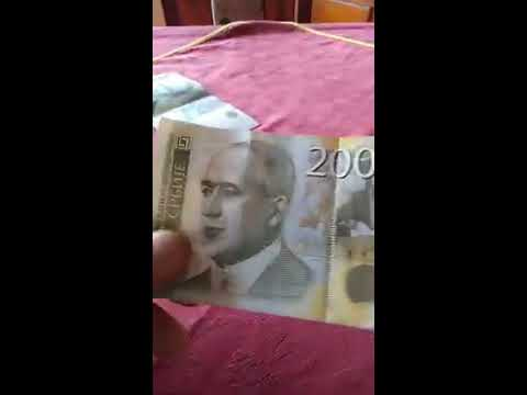 "Serbian currency ""DINAR"""