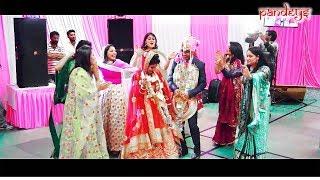 | DULHE KI SALIYO KA JABERDAST DANCE | DULHA DULHAN KO BHI NCHAYA | HIMACHAL MARRIAGE DANCE |