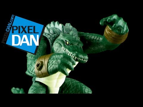 Nickelodeon Teenage Mutant Ninja Turtles Leatherhead Figure Video Review
