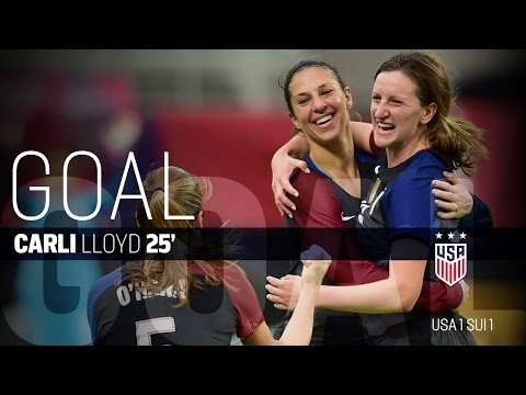 WNT vs. Switzerland: Carli Lloyd First Goal - Oct. 23, 2016