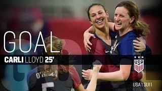 WNT vs. Switzerland: Carli Lloyd First Goal - Oct. 23, 2016