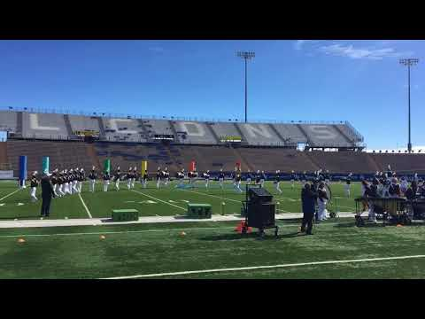 Palmer Terrors Marching Band Quarterfinals, Oct 27 2017