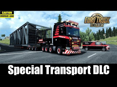 ✅ ETS2 - Special Transport DLC - 50t Construction Staircase