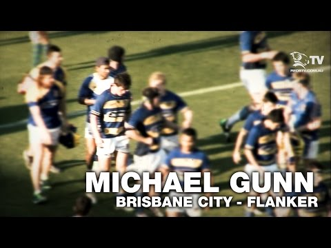Michael Gunn - Brisbane City flanker