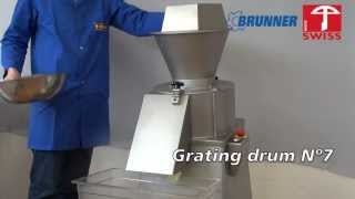 Brunner-Anliker Industrial cheese grater IR 250