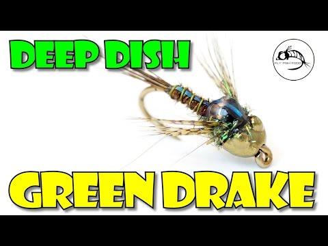 Deep Dish Green Drake Nymph by Fly Fish Food