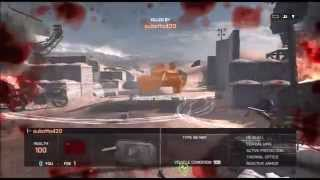Battlefield 4 China Rising Silk Road special request M4 Acog with grip