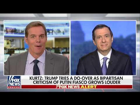 Kurtz: Leaks From 'Insiders' Again Undercutting Trump After Putin Summit