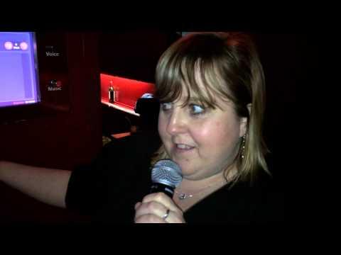 Karaoke in tiger tiger Cardiff