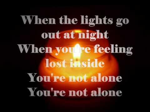 You're Not Alone -Shayne Ward with lyrics