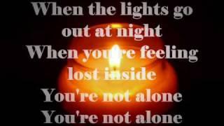 Youre Not Alone -shayne Ward With Lyrics