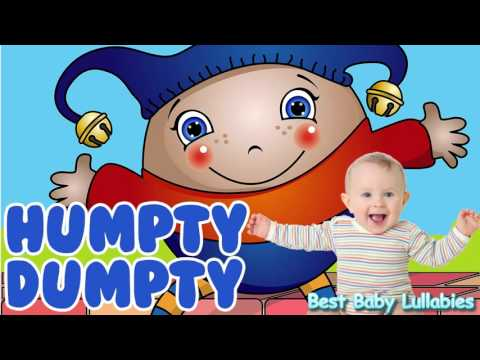 Humpty Dumpty Baby Lullaby ♥ Baby Songs To Put A Baby To Sleep Lyrics- Lullabies for Bedtime ♥