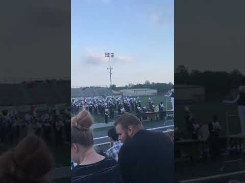 Hedgesville High School band - Martinsburg Spectacular 2019