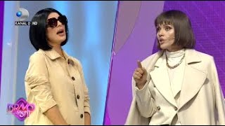 Bravo, ai stil!-Bubuiala in platou! Tonciu vs Alexandra vs Cristina: