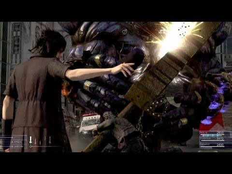 Final Fantasy XV – Battle Gameplay First Look
