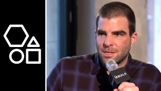Zachary Quinto on Corporal Punishment | BUILD Series