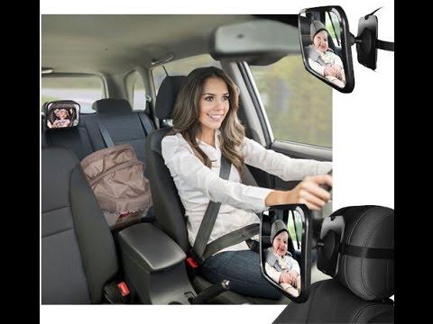 OxGord Baby Back Rear Car Seat Mirror