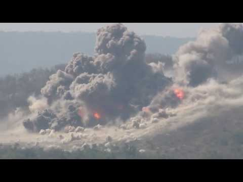 L-39 Gun Run & F-16 Bombing