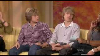 Dylan And Cole Sprouse On The View Interview 2008