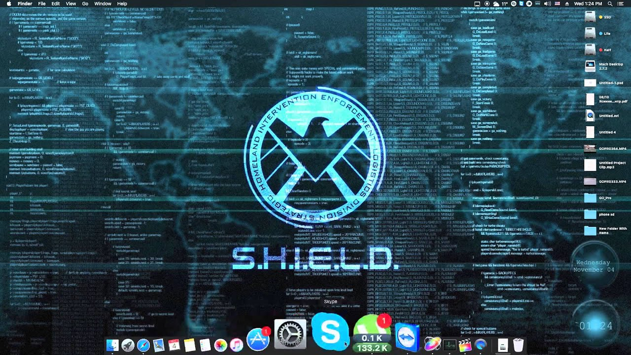 shield living wallpaper mac youtube