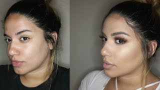 Summer Night Out Makeup Tutorial 2016 | FULL FACE OILY/COMBO SKIN