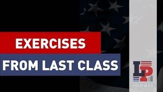 Exercícios da aula de Nacionalidades em Inglês