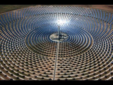 One Of Biggest Solar Panel Plant Gemasolar Thermosolar
