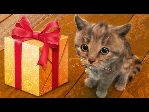 ПРИКЛЮЧЕНИЕ МАЛЕНЬКОГО КОТЕНКА мультик праздник симулятор кота для детей желейный медведь #ПУРУМЧАТА