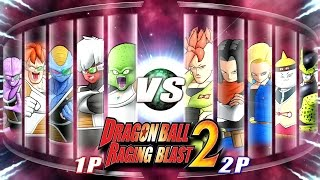 Dragon Ball Z Raging Blast 2 - Ginyu Force Vs. Androids (What If Battle)