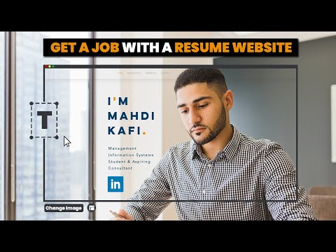 How To Make A Resume Website To Get An AWESOME Job (in 2020)