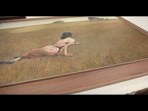 "Framing ""Christina's World"" by Andrew Wyeth"