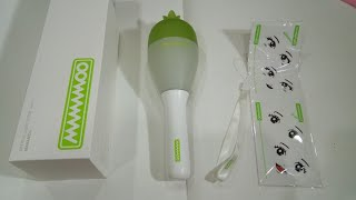 UNBOXING OFFICIAL LIGHTSTICK MAMAMOO ver 2.5