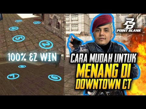 TAKTIK SPAWN EZ WIN DI DOWNTOWN CT!! - Pointblank Zepetto Indonesia