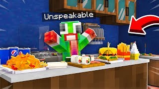 WORKING AS A CHEF IN A MINECRAFT KITCHEN!