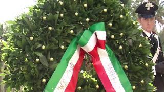 Sanremo commemora i caduti di Nassirya con 19 ciclamini bianchi e rossi