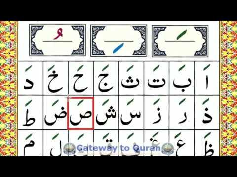 Learn To Read Quran With Tajweed Qaida Lesson Part Alif Fatha