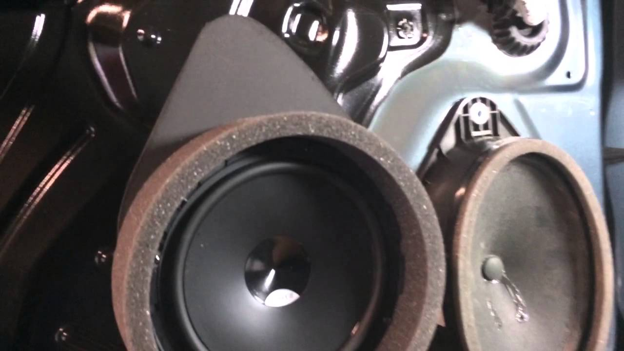 2014 Gmc Sierra F A S T Ring Speaker Installation Youtube