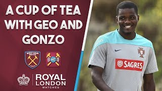 Video Cup of tea with Geo & Gonzo | William Carvalho to join West Ham? download MP3, 3GP, MP4, WEBM, AVI, FLV Agustus 2017