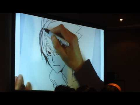 NYCC 2014 Takeshi Obata - The Future of Weekly Shonen Jump Panel (2 of 2)