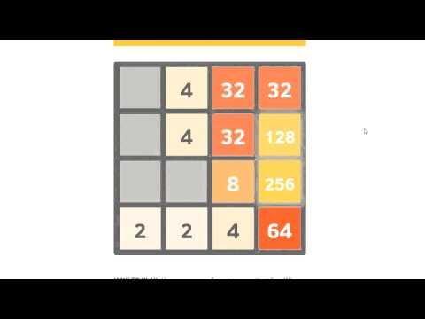 лучшая стратегия игры 2048