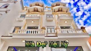 137+ Nhà Bán Gò Vấp. 4,2x16m MiNi Sang Trọng Hẻm Siêu To Xe Hơi Vô Nhà 3,5 Lầu Full Nội Thất Tây Âu