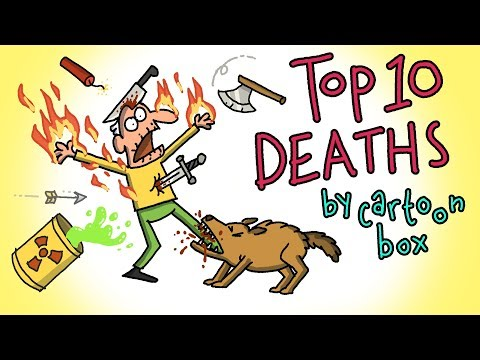 Top 10 DEATHS | The BEST of Cartoon Box | by FRAME ORDER | Funny Cartoon Compilation